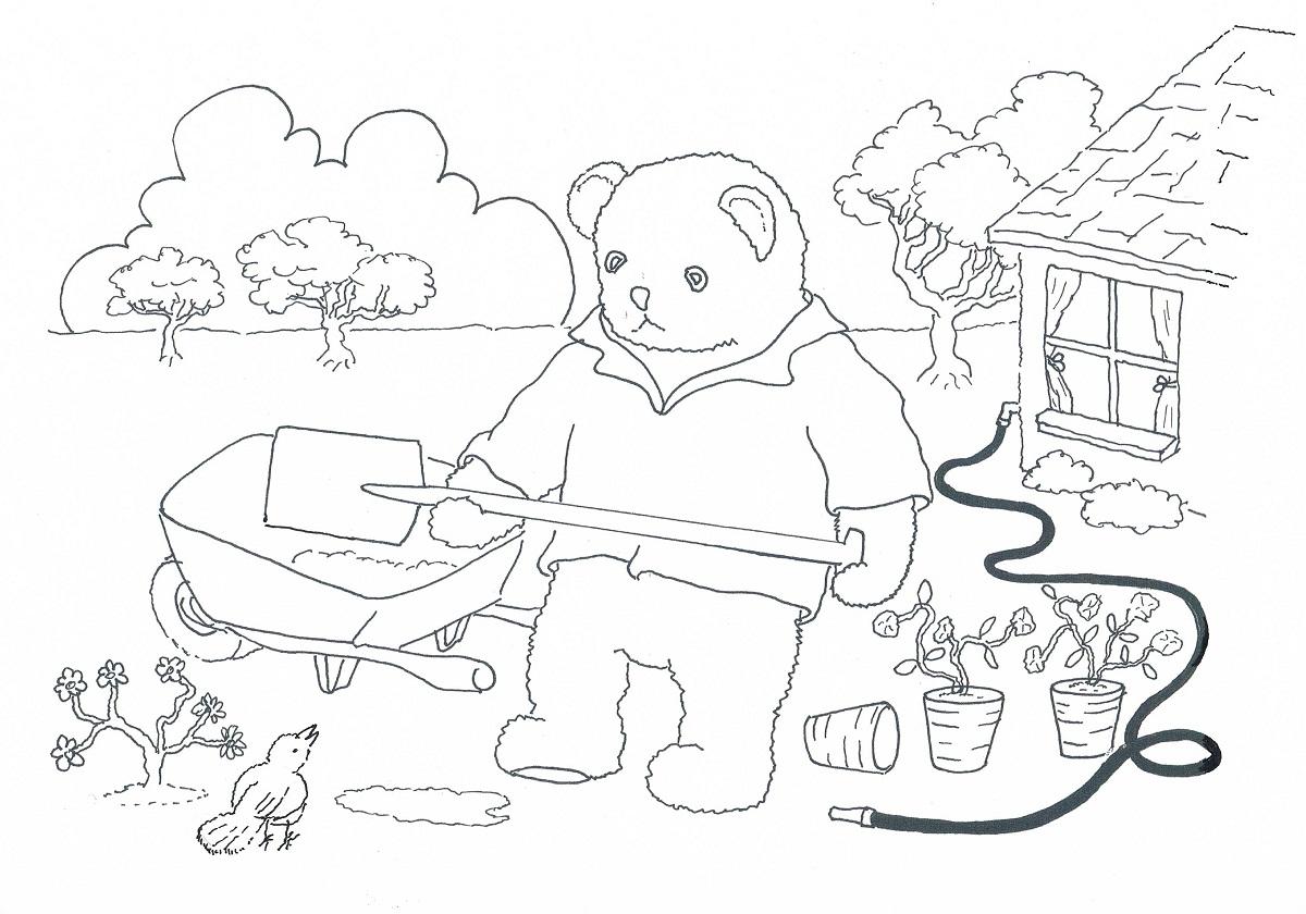 Stiffy The Bear » Colour-Ins